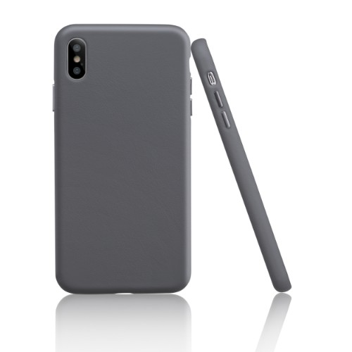Garbot Corium Nappa Leather Case for Iphone XS Max Blue Grey