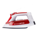 Hoover IRONJET Dry & Steam iron Ceramic soleplate Red,White 2200 W