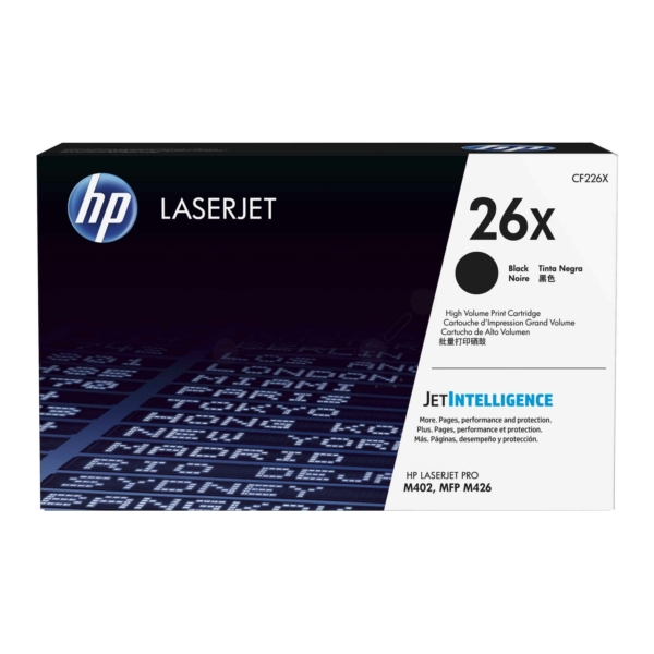 HP CF226X (26X) Toner black, 9K pages