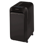 Fellowes Powershred LX221 paper shredder Micro-cut shredding Black