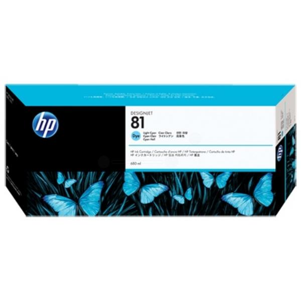 HP C4934A (81) Ink cartridge bright cyan, 680ml