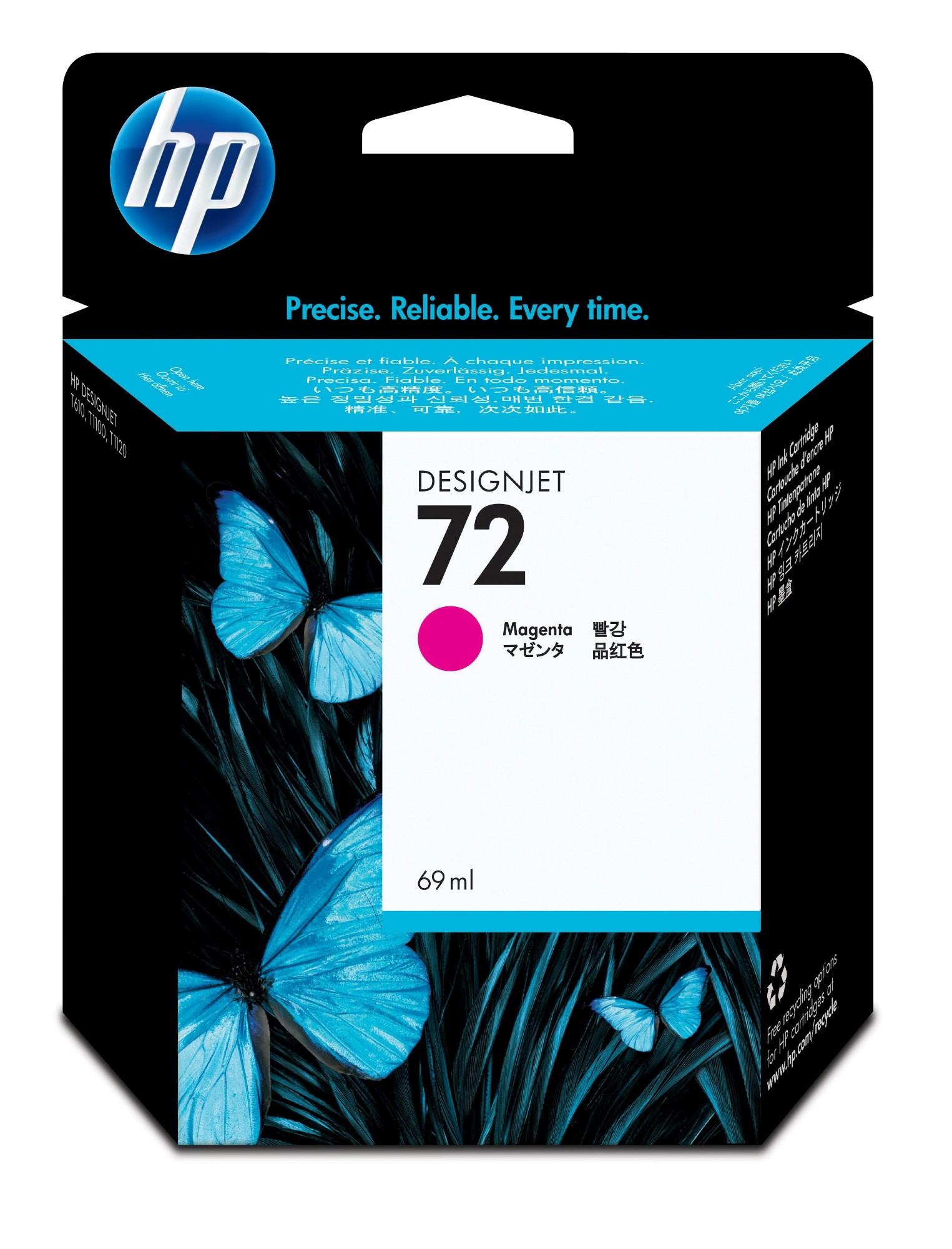 HP 72 Origineel Magenta