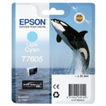 Epson T7605 Tintenpatrone 1 Stück(e) Original Helle Cyan