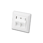 Digitus DN-93801-1 RJ-45 White socket-outlet