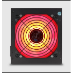 AEROCOOL KCAS 650GM PSU, RGB effects, 650W, ATX12V Ver.2.4, 2x PCIe 6+2pin connector, 7x SATA connectors, 12c