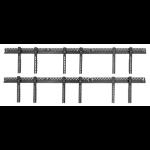 "Atdec ADWS-3X2F-320-W signage display mount 152.4 cm (60"") Black"