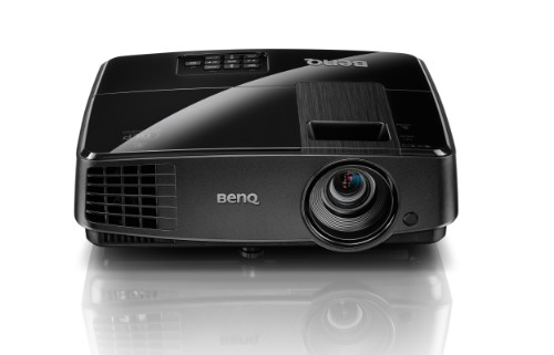 Benq MS506 data projector 3200 ANSI lumens DLP SVGA (800x600) 3D Desktop projector Black