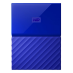 Western Digital My Passport 1TB 3.0 (3.1 Gen 1) 1000GB Blue WDBYNN0010BBL-WESN