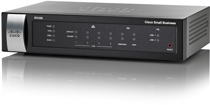 Cisco RV320 Ethernet LAN Black