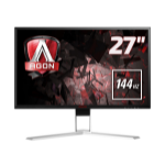 "AOC Gaming AG271QX computer monitor 68.6 cm (27"") Quad HD LED Flat Black,Red"