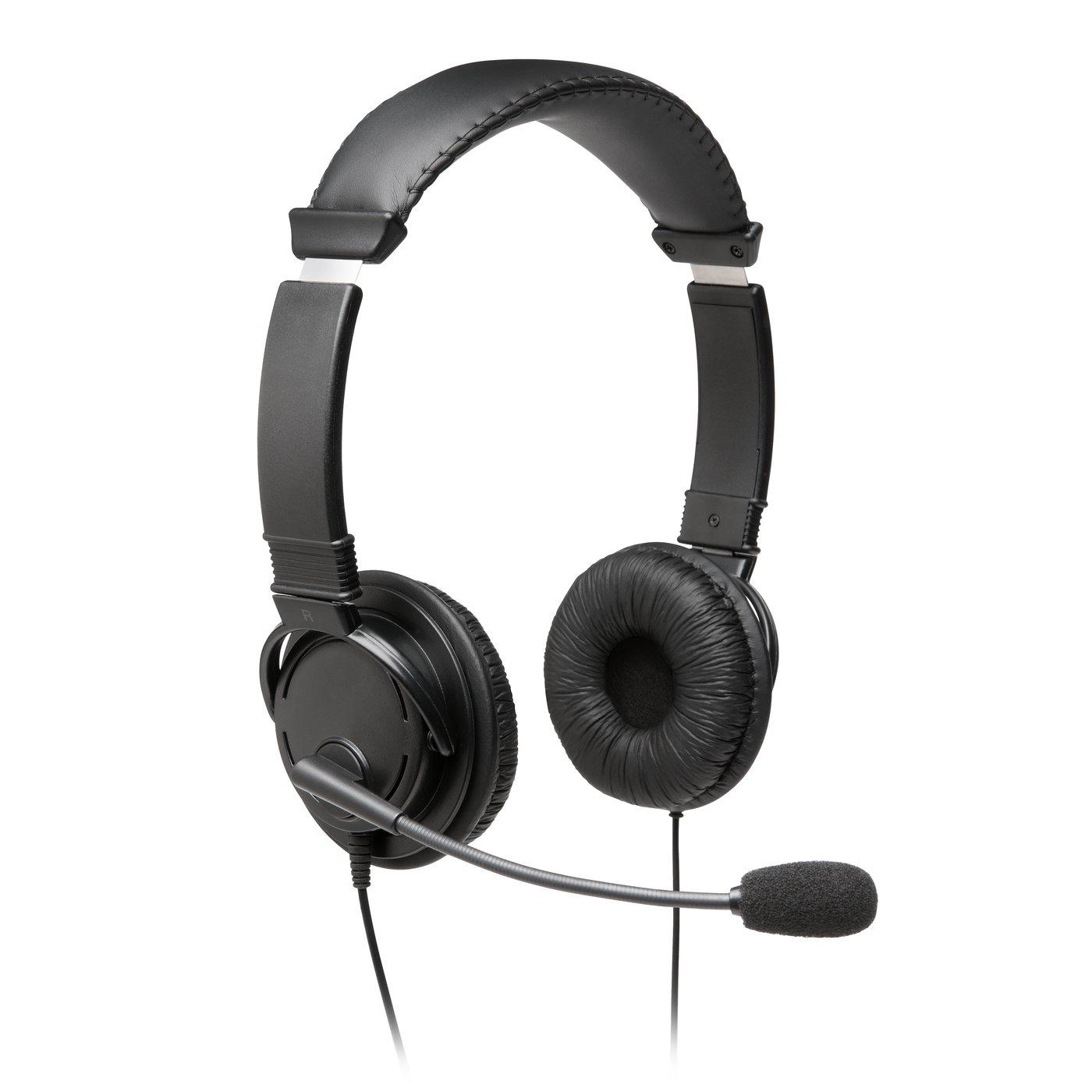 Kensington K97601WW auricular y casco Auriculares Diadema Negro