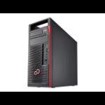 Fujitsu CELSIUS M770 Rack-mounted chassis Black, Red Workstation VFY:M7700W38SPGB