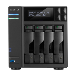 Asustor AS7004T-I5 NAS/storage server Ethernet LAN Black