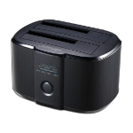 LC-Power LC-DOCK-U3-II storage drive docking station USB 3.2 Gen 1 (3.1 Gen 1) Type-B Black