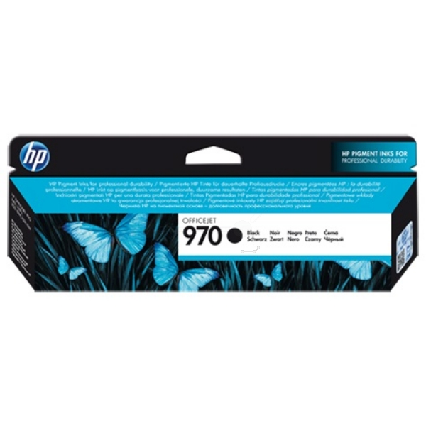 HP CN621AE (970) Ink cartridge black, 3K pages, 174ml