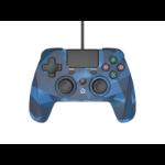 Snakebyte 4 S Blue, Camouflage USB Gamepad Analogue / Digital PlayStation 4, Playstation 3