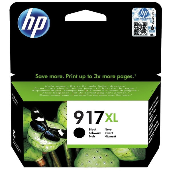 HP 3YL85AE (917XL) INK CARTRIDGE BLACK, 1.5K PAGES, 39ML