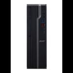 Acer Veriton X X4660G 9th gen Intel® Core™ i5 i5-9400 8 GB DDR4-SDRAM 256 GB SSD Zwart, Zilver SFF PC