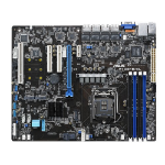 ASUS P10S-E/4L server/workstation motherboard LGA 1151 (Socket H4) Intel® C236 ATX