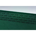 Rexel Crystalfile Classic A4 Suspension File 15mm Green (50)