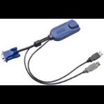 Raritan D2CIM-DVUSB-32PAC KVM cable Black