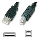 ADDER 5m USB cable type A to type B connectors