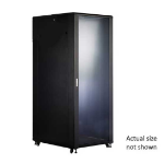 FDL 42U 19 NETWORK FLOOR CABINET 800W x 800D - GLASS DOOR""