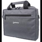 """Manhattan Copenhagen Laptop Bag 10.1"""" , Top Loader, Shoulder Strap, Black"""