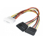EXC 147552 serial cable Black 0.15 m 1 x Molex (4-pin) 2 x SATA (power)