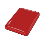 "Toshiba Canvio Connect II 2.5"" 3TB 3000GB Red external hard drive"