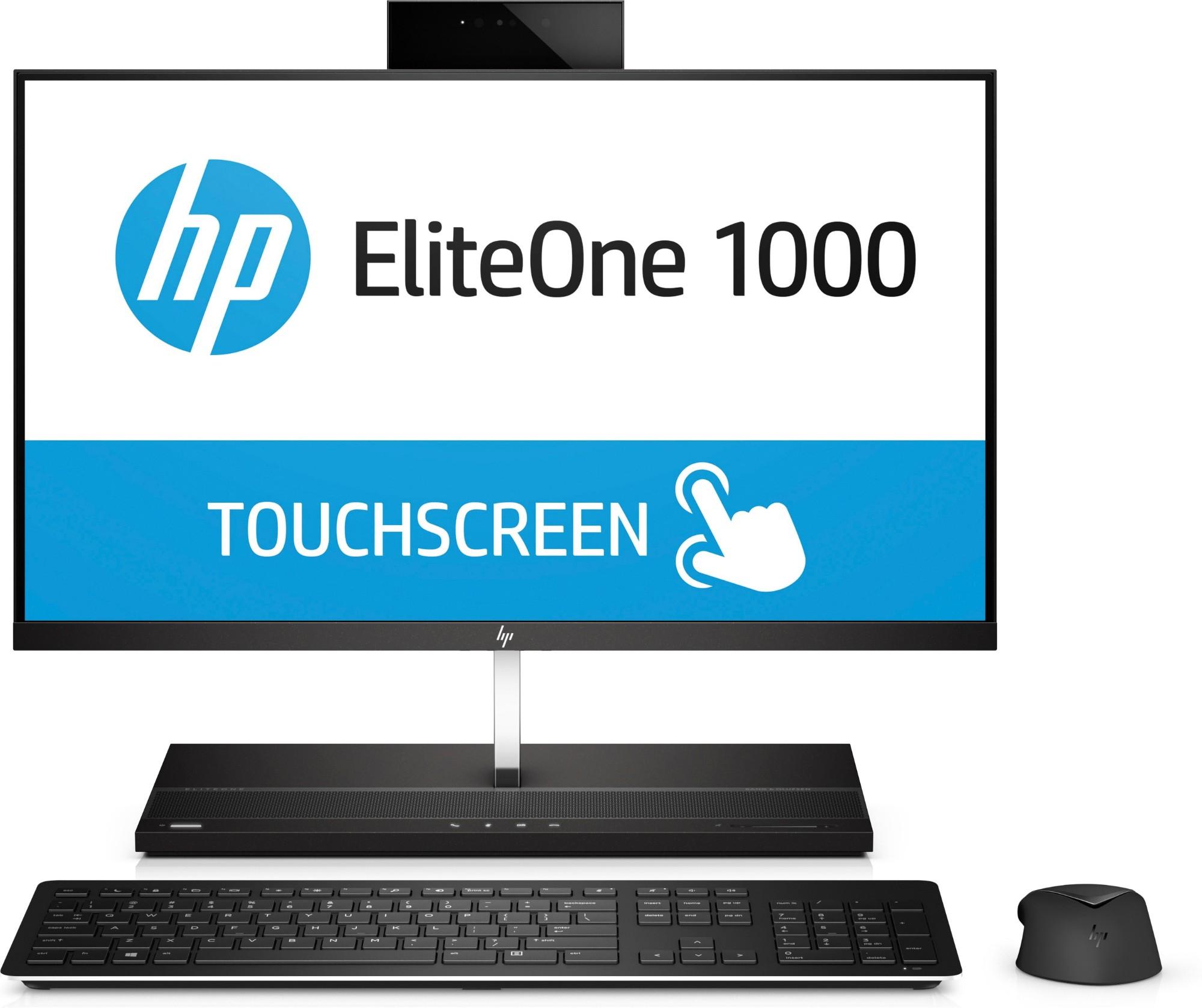 HP EliteOne 1000 G1 AiO - 24in - i5 7500 - 8GB RAM - 256GB SSD - Win10 Pro