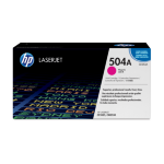 HP 504A Origineel Magenta 1 stuk(s)