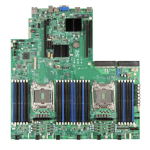 Intel S2600WT2R server/workstation motherboard LGA 2011-v3 Intel® C612