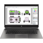"HP ZBook Studio x360 G5 DDR4-SDRAM Mobile workstation 39.6 cm (15.6"") 3840 x 2160 pixels Touchscreen 9th gen Intel® Core™ i7 16 GB 512 GB SSD NVIDIA® Quadro® P1000 Wi-Fi 5 (802.11ac) Windows 10 Pro Black"