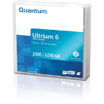 Quantum MR-L6WQN-04 blank data tape LTO 2500 GB 1.27 cm