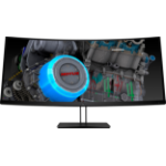 "HP Z38c LED display 95.2 cm (37.5"") Ultra-Wide Quad HD+ Curved Black"