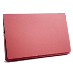 Guildhall PW3-REDZ folder Legal Cardboard Red