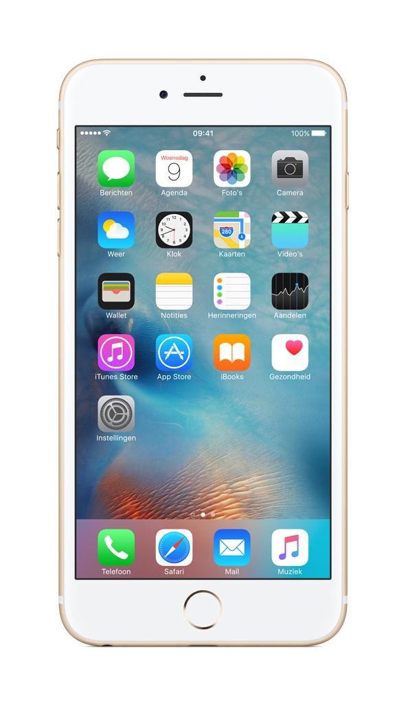 Apple iPhone 6s Plus Single SIM 4G 32GB Gold smartphone