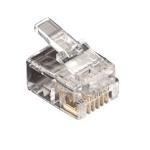 Black Box FMTP611-25PAK wire connector RJ-11 Transparent