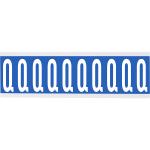Brady CNL1B Q self-adhesive label Rectangle Removable Blue, White 250 pc(s)