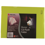 Rexel Nyrex™ A4 Cut Flush Folders Yellow (25)