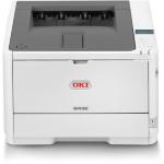 OKI B432DN A4 Mono Laser Printer Duplex A4 Mono Laser Printer, 40ppm Mono, 1200 x 1200 dpi, 512MB Memory