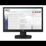 """HP V197 pantalla para PC 47 cm (18.5"""") WXGA LED Plana Negro"""