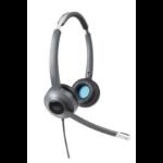 Cisco 522 headset Head-band Black,Grey