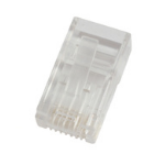 Microconnect KON505-50 RJ45 Doorschijnend kabel-connector