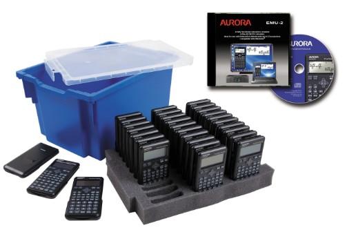 Aurora CK59 calculator Pocket Scientific Black