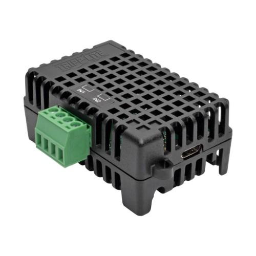 Tripp Lite EnviroSense2 (E2) Environmental Sensor Module with Temperature and Digital Inputs