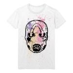 BORDERLANDS Psycho Splatter T-Shirt, Male, Small, White (TS001BOR-S)