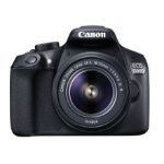 Canon EOS 1300D EF-S 18-55mm SLR Camera Kit 18MP CMOS 5184 x 3456pixels Black