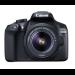 Canon EOS 1300D EF-S 18-55mm SLR Camera Kit 18MP CMOS 5184 x 3456pixels Black